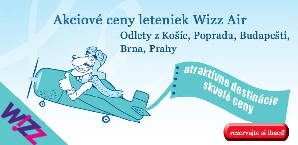 5e83d33c595a9 Lacné letenky od spoločnosti Wizz Air | Letenky.sk
