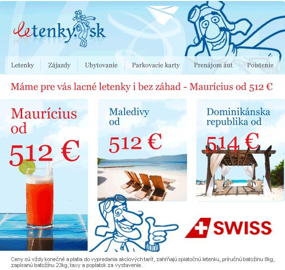 82aa38408c675 Nemusíme ich skrývať, sú to predsa pre vás, skvelé ceny leteniek do  Dominikánskej republiky, na Murícius či na Maledivy už od 512 €, leťte so  SWISSOM!