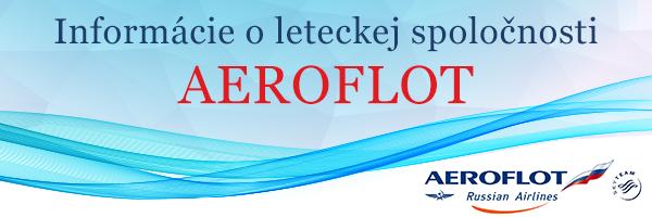 f71cdf3e7cfc1 Lietajte svetom s leteckou spoločnosťou Aeroflot   Letenky.sk